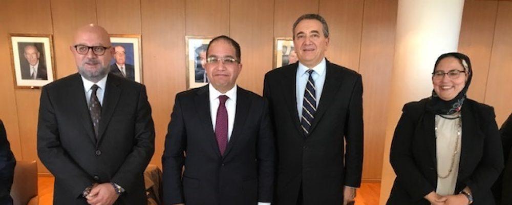 Επίσκεψη του Ναυτικού Επιμελητηρίου του Port Said στο Ν.Ε.Ε στις 07.12.2018
