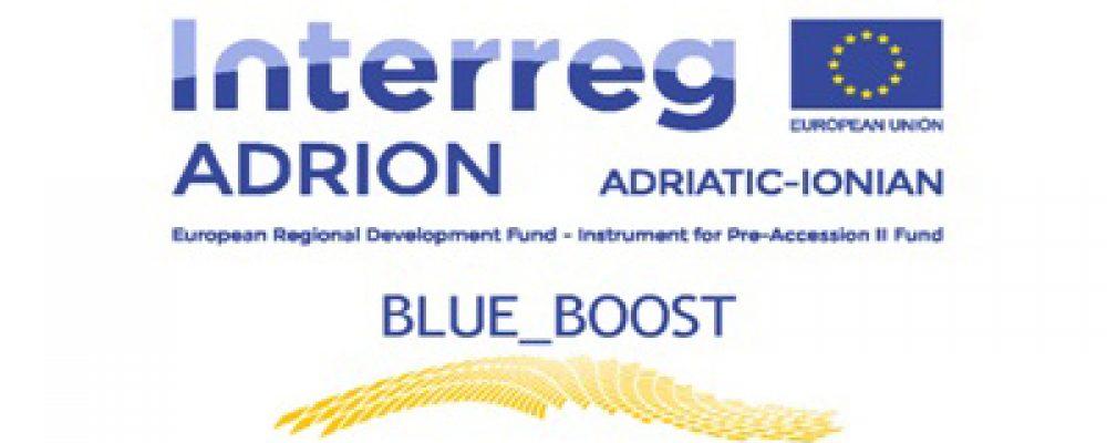 Πρόσκληση εκδήλωσης ενδιαφέροντος στο πλαίσιο της υλοποίησης του έργου BLUE_BOOST (ADRION)