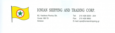 IONIAN SHIPPING AND TRADING CORP.
